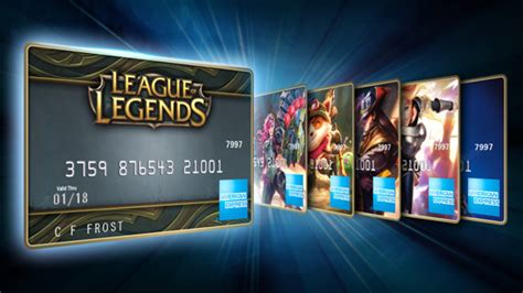League Of Legends Digital Gift Card - brandchannel american express issues branded prepaid cards to woo league of legends