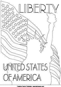 Coloring Page For 9 11 by Statue Of Liberty Coloring Poster