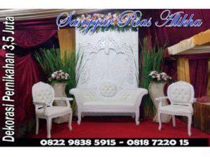 Retota Kursi Lipat K 225 paket rias pengantin dekorasi utan kayu manis matraman