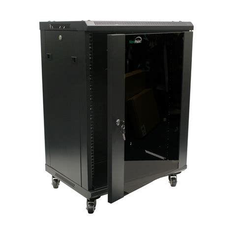 wall mount rack enclosure server cabinet 15u wall mount server cabinet rack enclosure glass