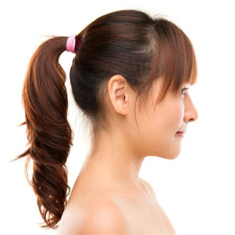 pony tail with fringes back 12 incredibly cute ponytail ideas grab your hair ties