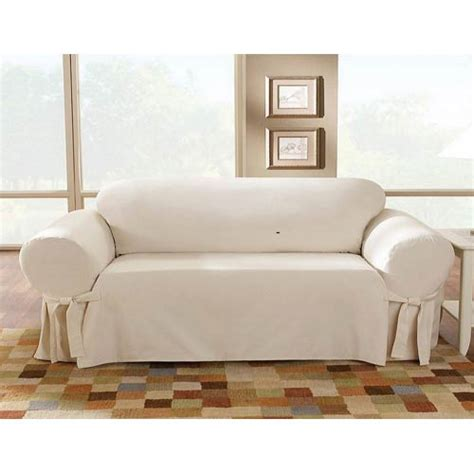 cotton duck sofa slipcover clearance natural cotton duck sofa slipcover sure fit slipcovers