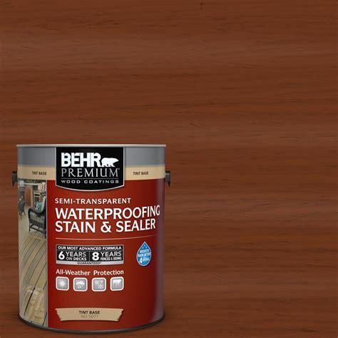 behr premium  gal st  woodbridge semi transparent
