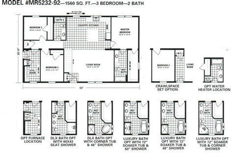 main street homes floor plans schult main street 5232 92 excelsior homes west inc