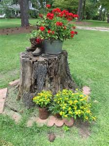tree stump gardening ideas and much more