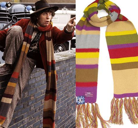 doctor who thing of the day tom baker scarf licensed