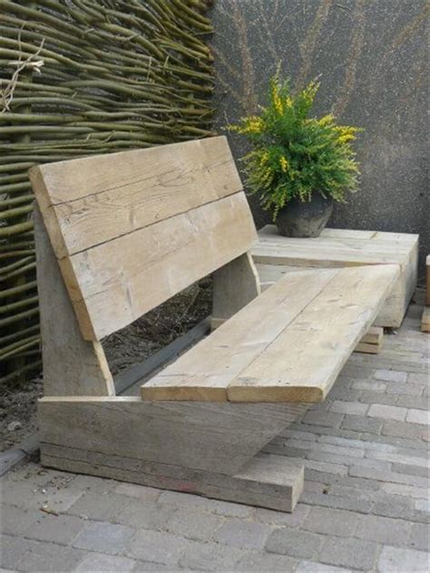 simple garden bench 19 diy wooden pallet bench diy to make