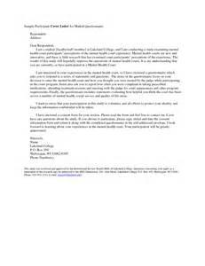 Survey Cover Letter by Customer Survey Cover Letter Gmagazine Co