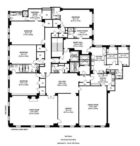 san remo floor plans 632 best images about floor plan on pinterest parks nyc