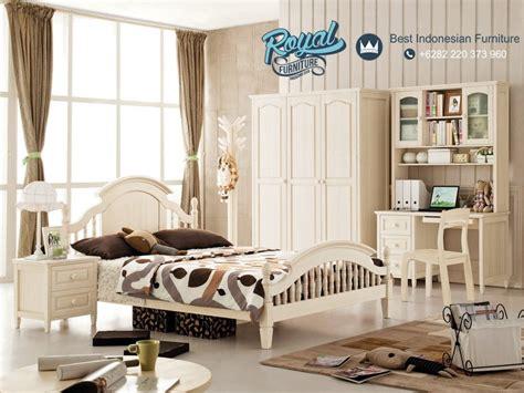 Tempat Tidur Anak Minimalis White Duco Furniture Dipan Ranjang tempat tidur anak set jepara korean style duco royal furniture indonesia