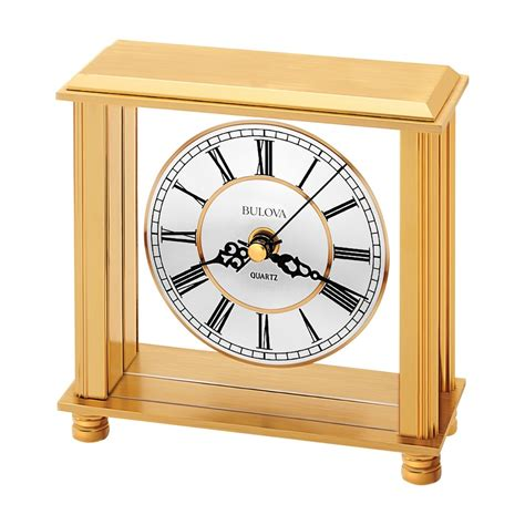 Bulova Table Clock by Bulova Cheryl Table Clock Model B1703