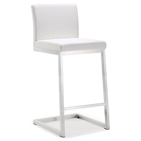 Counter Stool White by Modern Stools Provence White Counter Stool Eurway