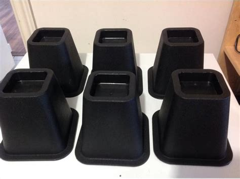 heavy duty bed risers 6 quot heavy duty bed risers victoria city victoria