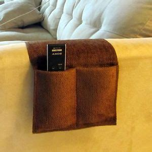 Tv Remote Holder For Sofa by New Brown 4 Pocket Remote Organizer Caddie Holder