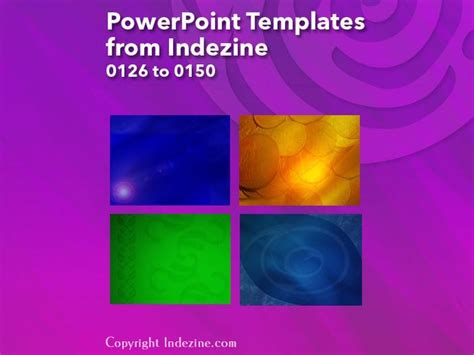 Powerpoint Templates From Indezine 006 Designs 0126 To 0150 Indezine Indezine Powerpoint Templates