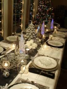 Setting Christmas Table - christmas table setting ideas