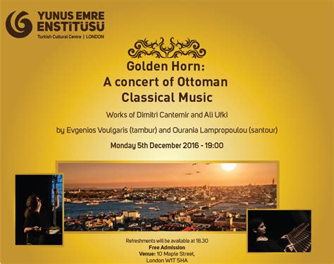 ottoman classical music londoners invited on a musical journey across the golden