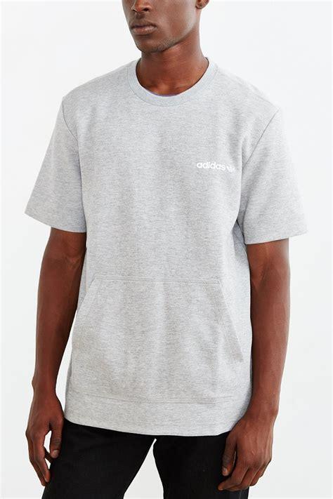 Modern Pocket Shirt lyst adidas originals modern kangaroo pocket in gray for