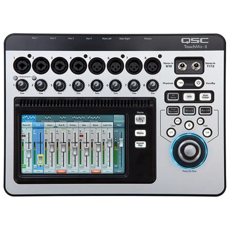 Mixer Digital Qsc qsc touchmix 8 171 digital mixer