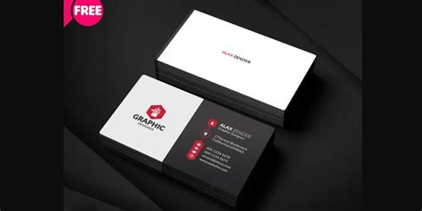 Graphic Designer Business Card Psd