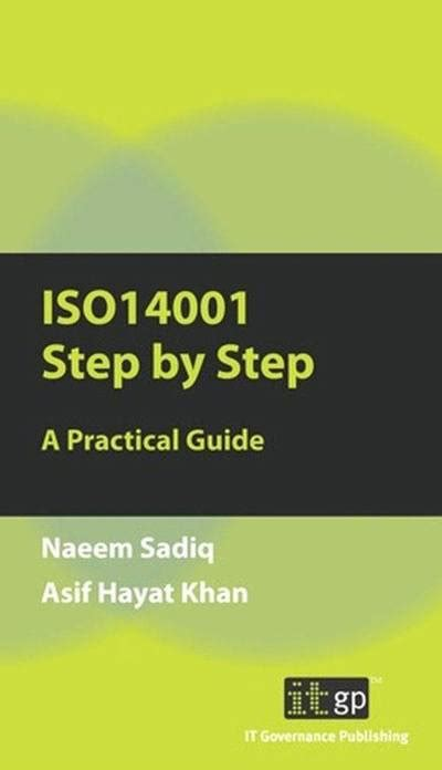 libro the practical step by step guide iso14001 step by step a practical guide