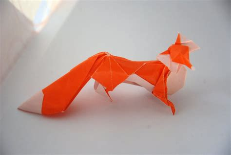 Origami Fox - origami fox by lisadeng on deviantart