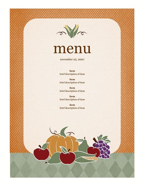 menu layout pinterest 1000 images about thanksgiving on pinterest
