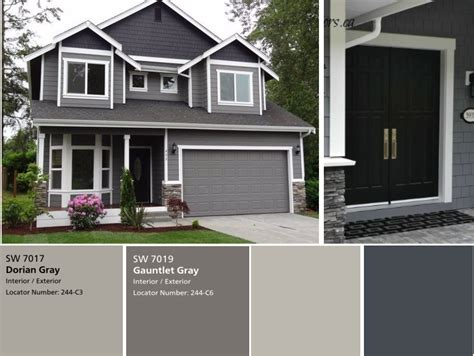 grey house colors we have the exterior painted already with sherwin williams