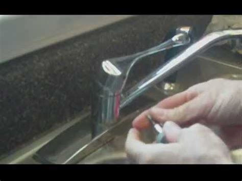How to Repair a Leaking Kitchen Faucet   YouTube