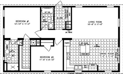 Jacobsen Mobile Home Floor Plans by 1000 To 1199 Sq Ft Manufactured Home Floor Plans