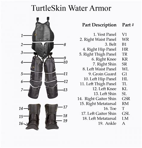turtle l replacement glass turtleskin waterarmor replacement part left glove insert