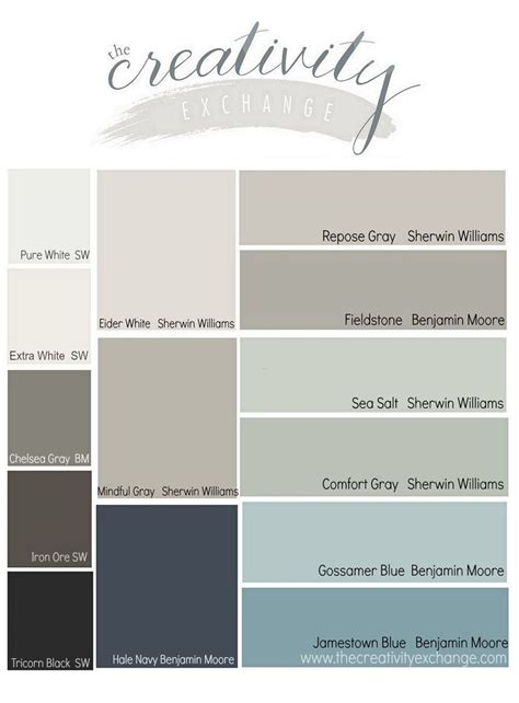 sherwin williams color palettes 25 best ideas about sherwin williams color palette on