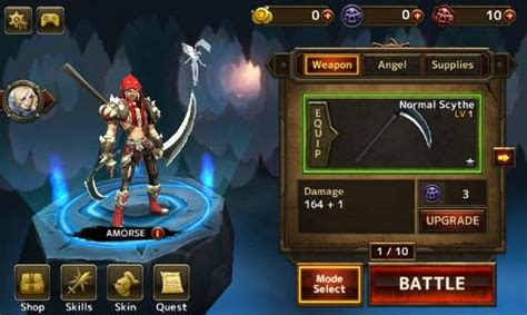 mod apk game android rpg blade warrior for android free download blade warrior