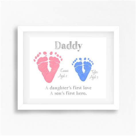 unique gift for dad from children personalised daddy