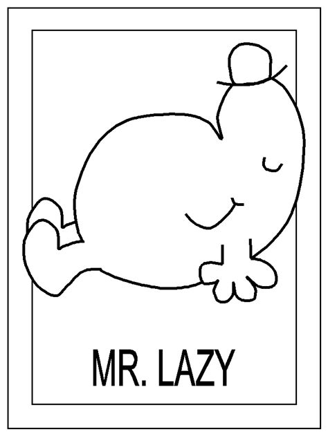 mr men coloring pages coloring kids