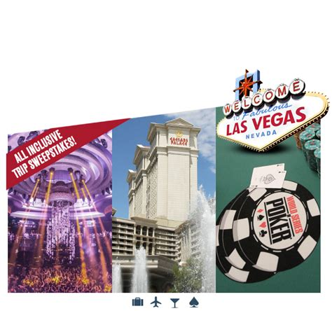 Las Vegas Sweepstakes - win a free trip to las vegas on wsop las vegas vip weekend experience sweepstakes