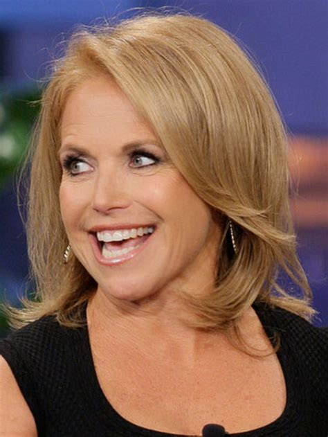 pictures of katy courics hair style katie couric hairstyles over the years