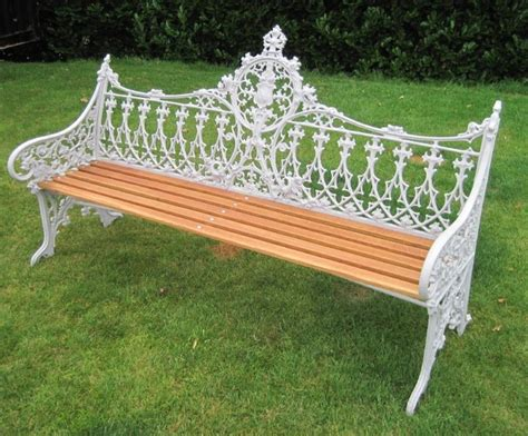 coalbrookdale garden bench coalbrookdale gothic pattern garden bench homey home