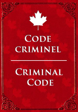 section 253 criminal code of canada opinions on criminal law of canada