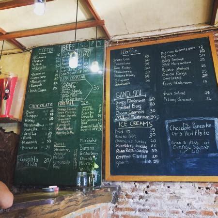 Menu Coffee Toffee Malang houtenhand malang ulasan restoran tripadvisor