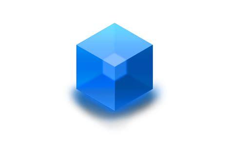 Cube Gaming Syrien Blue Diskon glass cube by devonx1 on deviantart