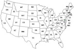 usa map no color maps usa map coloring