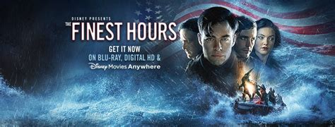 film disney ours the finest hours blu ray bonus features
