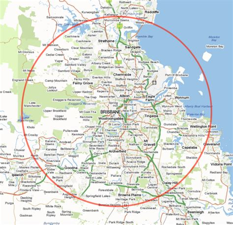 brisbane australia map brisbane map australia hd 1080p 4k foto