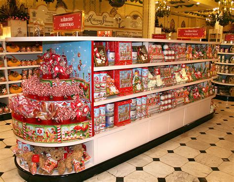 Solar Christmas Decorations Harrods Christmas Candy Factory Packaging Illustrations