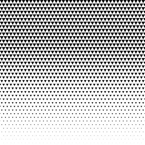 triangle halftone pattern triangle pattern design halftone vector download free