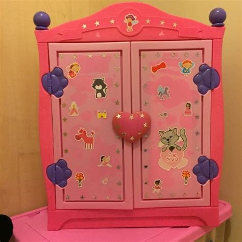 build a bear closet armoire build a bear wardrobe closet with 3 tops and various