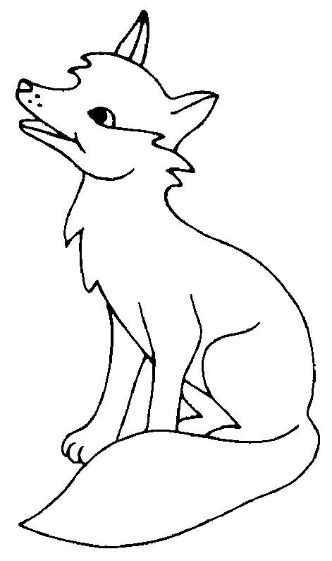 Fox Coloring Pages by Fox Coloring Pages Coloringpages1001
