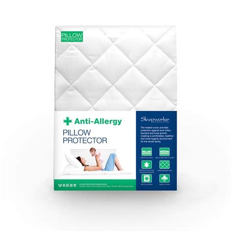 Allergy Free Pillow Covers by Quilted Anti Allergy Mattress Protector Sw Living