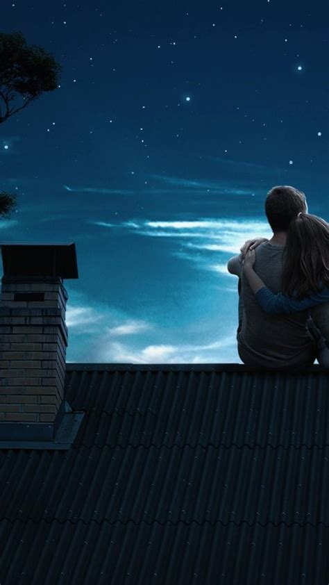 Love night romantic romance wallpaper   (124300)